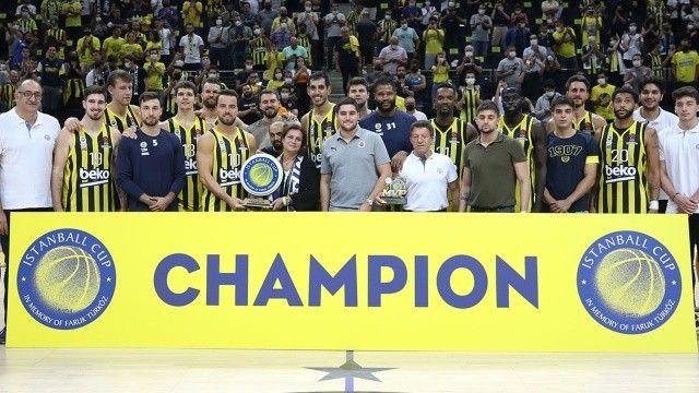 Istanball Cup'ta şampiyon Fenerbahçe Beko