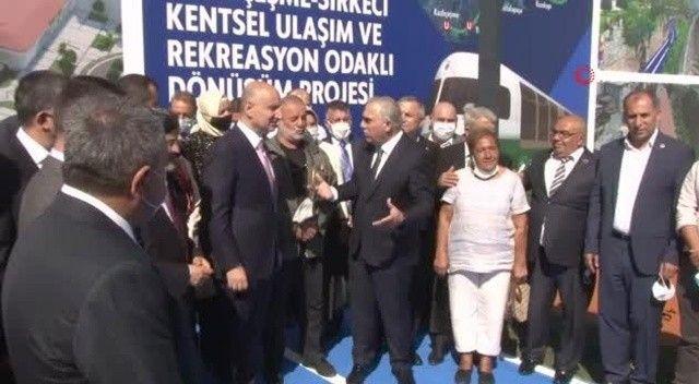 İstanbul'a 8 istasyonlu yeni raylı sistem!