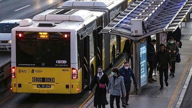 İstanbul toplu taşımasına Covid-19 etkisi! Yarı yarıya düştü