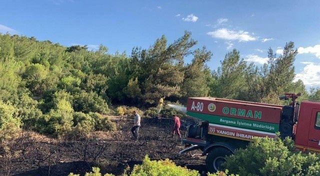 Kısa süre içinde yangına müdahale edildi, 2 bin hektarlık alan yanmaktan kurtuldu