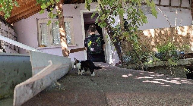 Komşusu kedilerin miyavlamasıyla şüphelendi, evde ölü bulundu