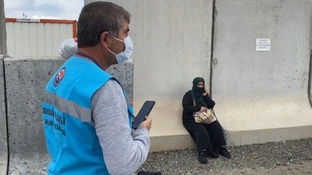 Koronavirüslü kadın, bilet almadan gizlice otobüse bindi