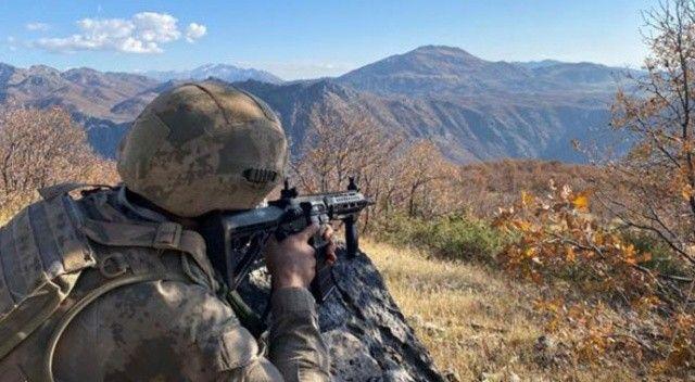 Kuzey Irak'ta 2 PKK'lı terörist etkisiz hâle getirildi