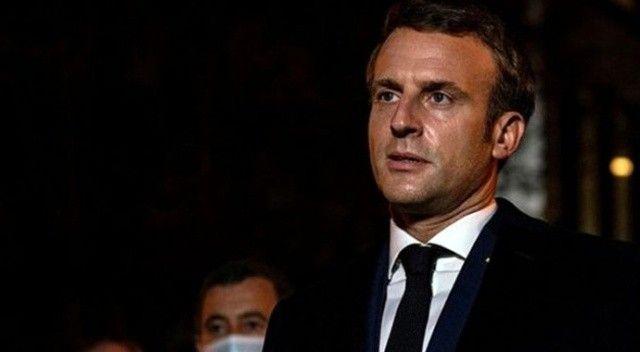 Macron'dan Taliban açıklaması