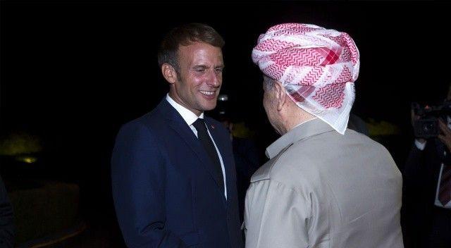 Macron'un ajandasında Irak'ı işgal var