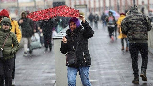 Marmara'da sıcaklıkların 4 ila 8 derece azalacak