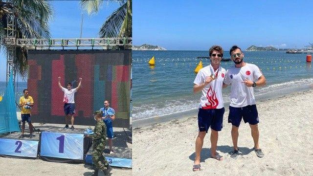 Milli sporcu Derin Toparlak, dünya şampiyonu oldu