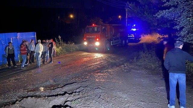 Misafirliğe giden baba ve 3 çocuğu yanarak öldü