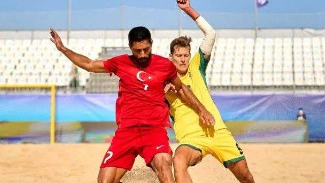 Plaj Futbolu Milli Takımı, turnuvaya mağlubiyetle başladı