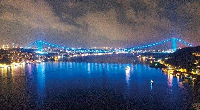 Prostat kanseri için köprü maviye boyandı