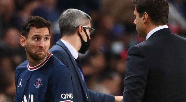 Geceye damga vurmuştu! Messi'nin oyundan alınma nedeni belli oldu