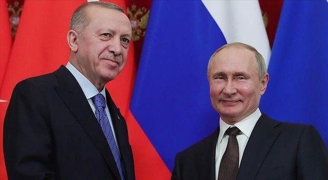 Putin, Cumhurbaşkanı Erdoğan ile Soçi'de gerçekleşen görüşmede konuştu