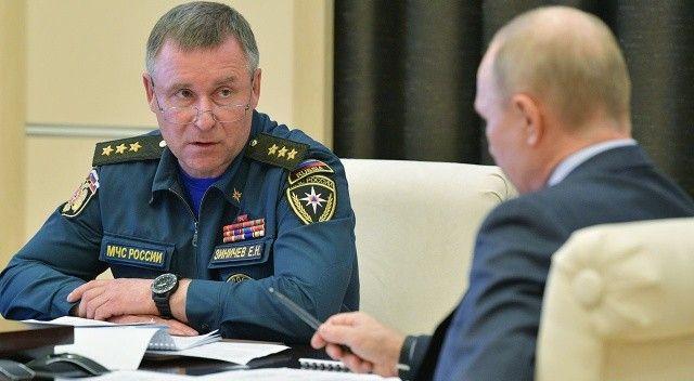 Rusya Acil Durumlar Bakanı Zinichev tatbikatta öldü