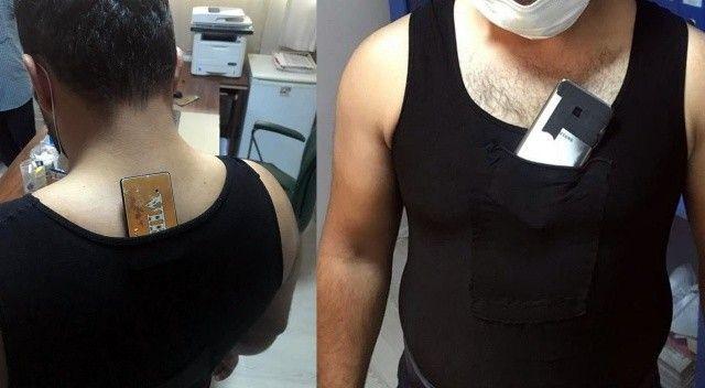 Sınava kopya düzeneği ile giren şahıslar polis radarına takıldı