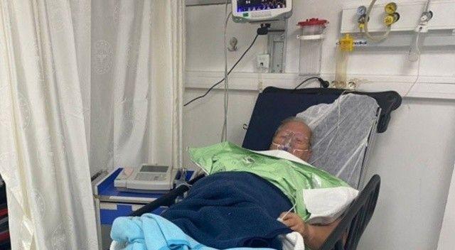 Teknesi batan 75 yaşındaki yaşlı adam boğulmaktan son anda kurtarıldı