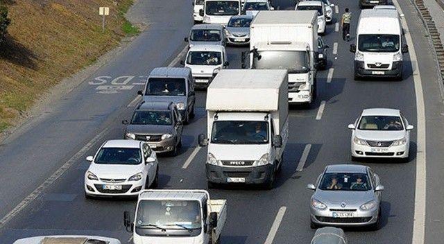 TÜİK verilerine göre İstanbul'daki araç sayısı 22 ilin toplam nüfusu kadar
