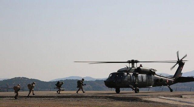 Tunceli'de düzenlenen operasyonda 5 odadan oluşan sığınak imha edildi