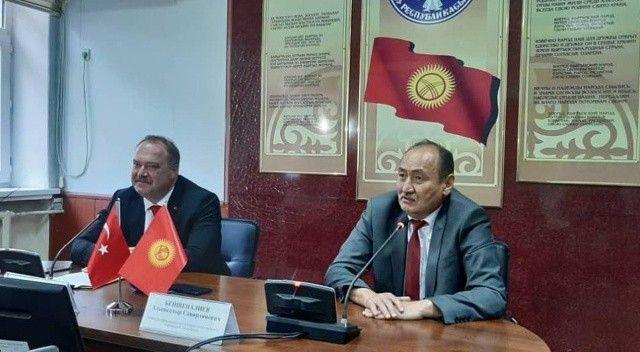 Türkiye'den Kırgızistan'a aşı desteği
