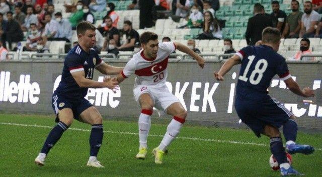 U21 Avrupa Şampiyonası Elemeleri: Türkiye: 1 - İskoçya: 1