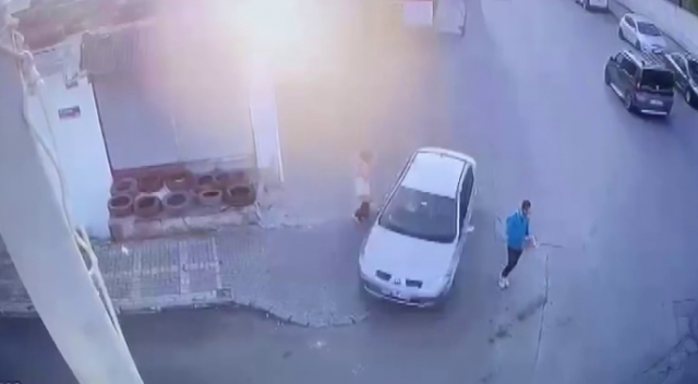 Ümraniye'de korkutan kaza! İki kişi ölümden döndü