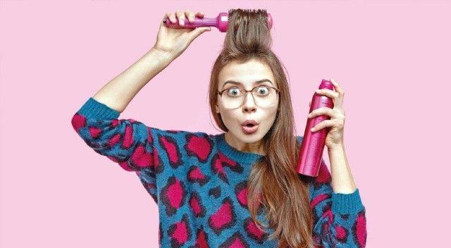 Yağlı saçların kurtarıcısı: Kuru şampuan