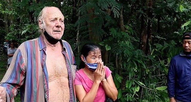 Yaşlı İngiliz Tayland'da ormanda kayboldu, 3 gün sonra bulundu