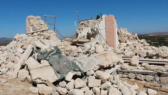 Yunanistan Girit Adası'nda 5 büyüklüğünde deprem