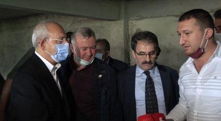 Kılıcardoğlu'na çay brifingi veren CHP'li başkanın oğlu çıktı