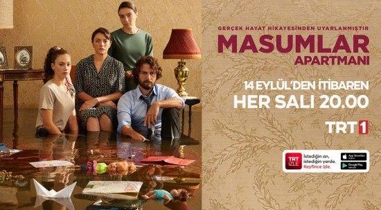 'Masumlar Apartmanı' yeni sezon ilk bölümüyle bu akşam TRT 1'de