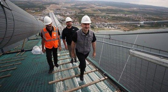 1915 Çanakkale Köprüsü'nde tarihi gün: Asya'dan Avrupa'ya ilk adım atıldı