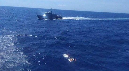 Açık denizde yaşam savaşı: Anne çocukları için kendini feda etti