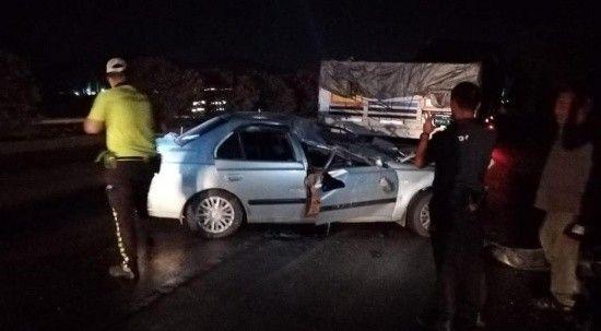 Adana'da feci kaza, 2 yaşındaki çocuk öldü