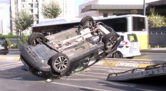 Alkollüyken Kaza yaptı! Trafik canavarı olduğu ortaya çıktı