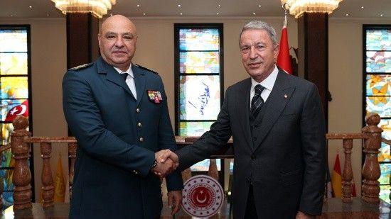 Bakan Akar, Lübnan Silahlı Kuvvetler Komutanı'nı kabul etti