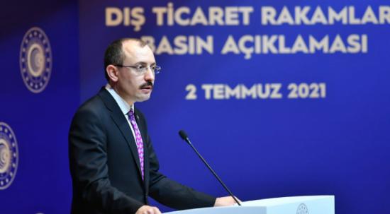 """Bakan Muş: """"İhracatta Cumhuriyet rekoru kırdık"""""""