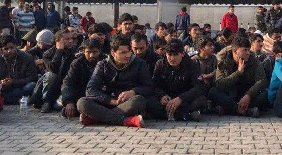 Başkentte 25 düzensiz göçmen yakalandı