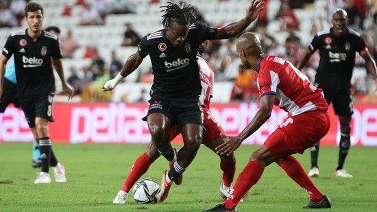 Beşiktaş Antalyaspor'u 3-2'lik skorla mağlup etti