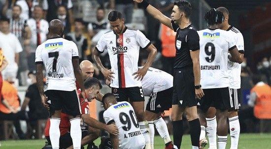 Beşiktaş'ta sakatlık şoku! Dortmund maçı öncesi kötü haber