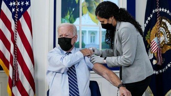 Biden, 3. doz Covid aşısını oldu