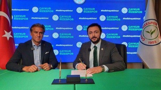 Çaykur Rizespor'un yeni teknik direktörü belli oldu