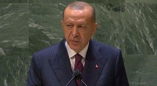 Cumhurbaşkanı Erdoğan: Türkiye'yi yok sayan anlayıştan vazgeçilmeli