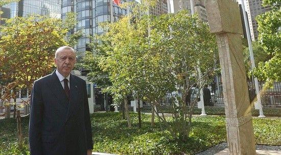 Cumhurbaşkanı Erdoğan'dan Göbeklitepe paylaşımı!
