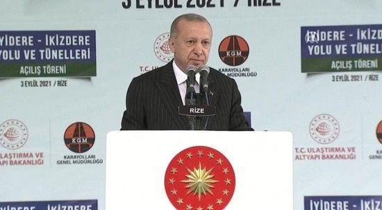Cumhurbaşkanı Erdoğan: Büyüme oranında dünya ikincisiyiz