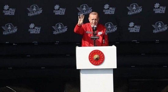 Cumhurbaşkanı Erdoğan: TEKNOFEST'i uluslararası marka haline getireceğiz