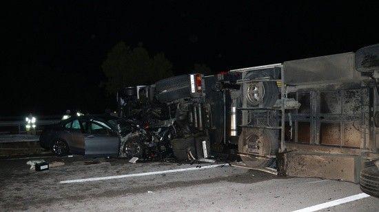 Edirne-İstanbul Otoyolu'nda zincirleme kaza, çok sayıda yaralı var