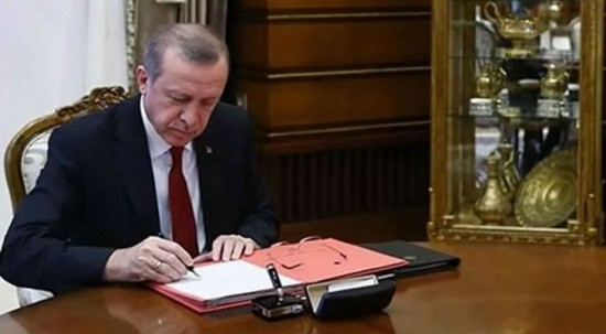 Erdoğan imzaladı, yeni atama kararları Resmi Gazete'de