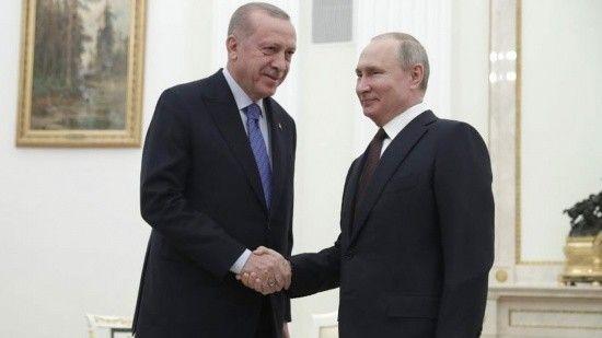 Erdoğan ve Putin'den Soçi'de 'idlib' mesaisi