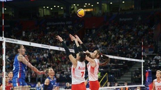 Filenin Sultanları Sırbistan'a 3-1 mağlup oldu