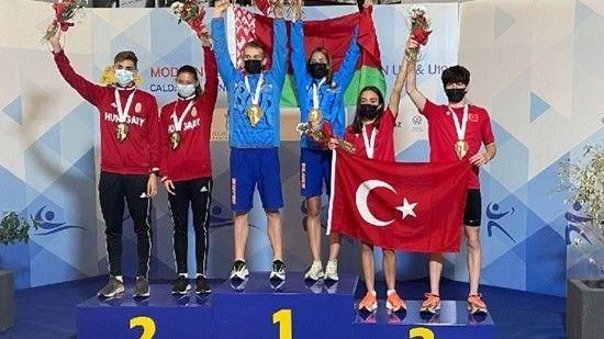 Genç millilerden Portekiz'de bronz madalya başarısı