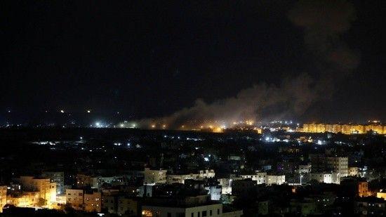 İşgalci İsrail uçakları yine saldırdı